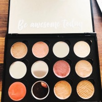 DIY pressed makeup palette with savvy minerals