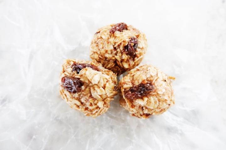 Energy oat balls
