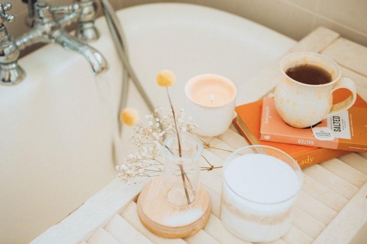 Detox Bath ( with ACV & coconutoil)