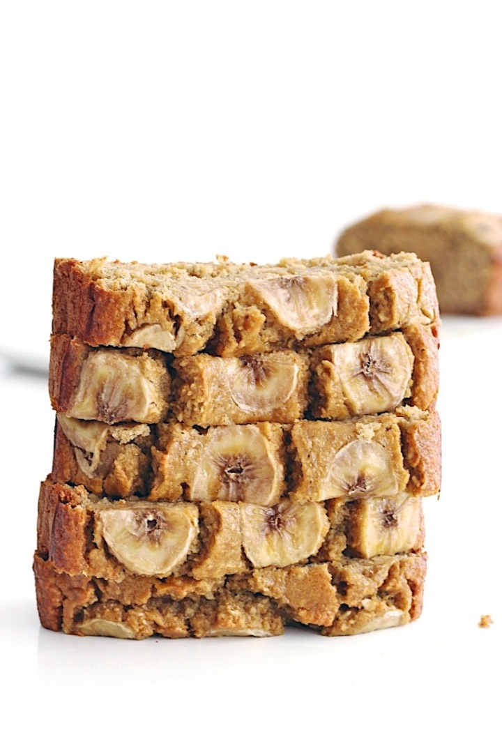 Super simple healthy banana bread