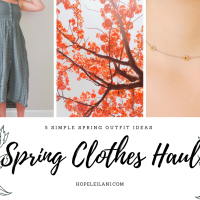 5 Spring outfit ideas + My Spring Clothes Haul (feat. AE & Pura Vida)